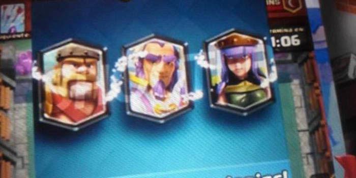 Nuevos heroes Clash Royale