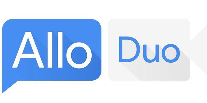 Nuevos iconos Google Allo y Duo