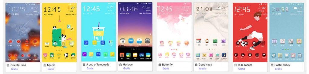 Nuevos temas Galaxy S6 gratis