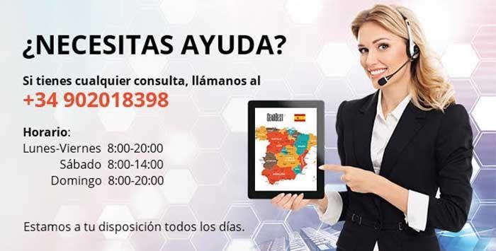 Numero telefono GearBest Espana