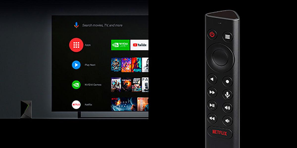 Nvidia Shield TV Pro mando