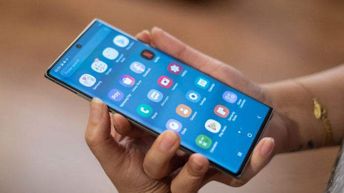 OS Galaxy Note 10