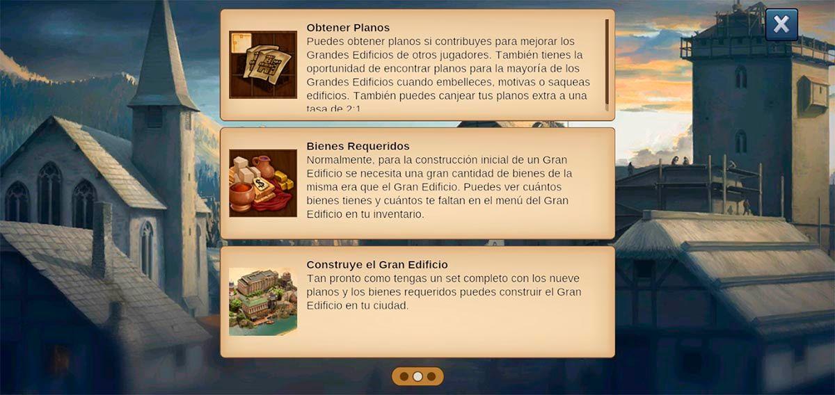 Obtener planos Forge of Empires
