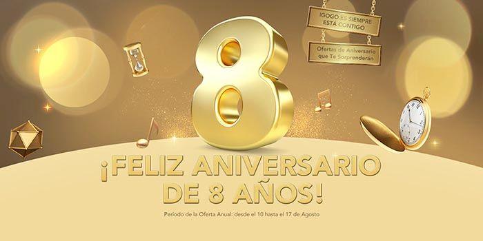 Octavo aniversario de Igogo