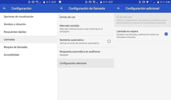 Ocultar ID de llamada en Android