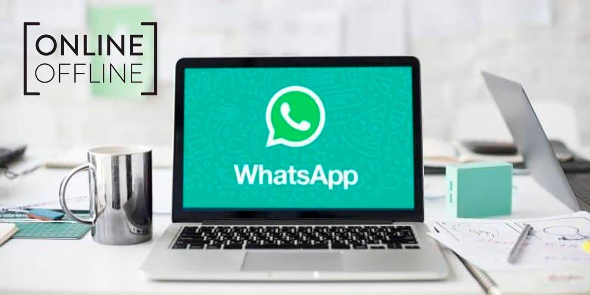 Ocultar que estas en linea desde WhatsApp Web