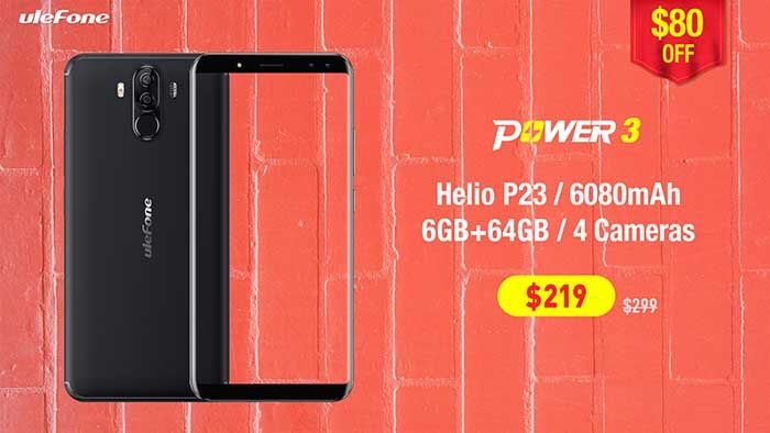 Oferta Ulefone Power 3