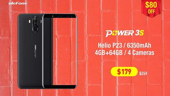 Oferta Ulefone Power 3S