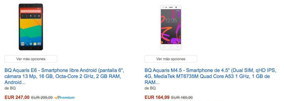 Ofertas Black Friday 2015 Amazon España BQ