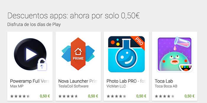 Ofertas Google Play