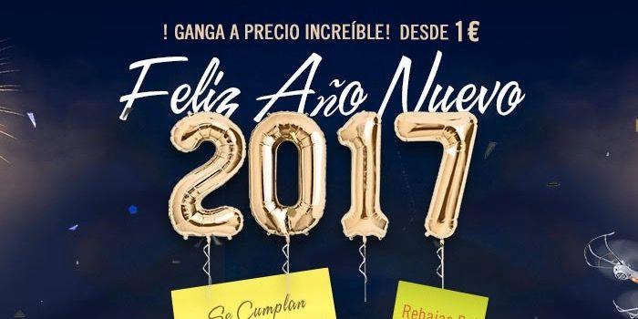 Ofertas de Igogo para dar la bienvenida al 2017