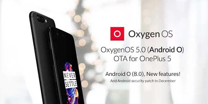 OnePlus 5 Oxygen OS 5.0