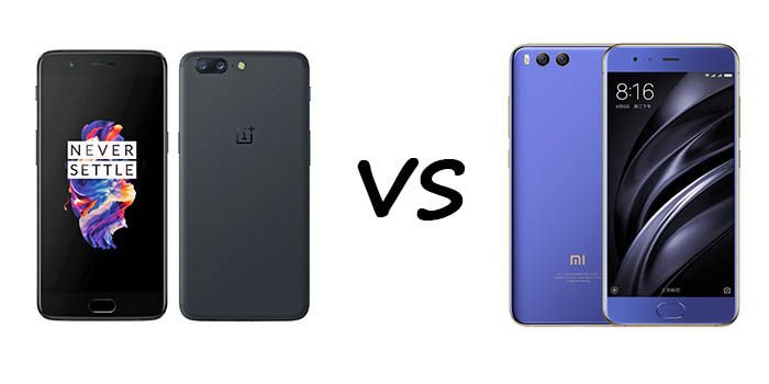 OnePlus 5 vs Xiaomi Mi6