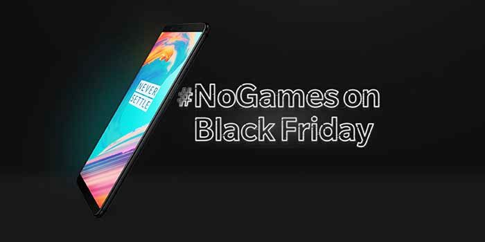 OnePlus 5T Black Friday