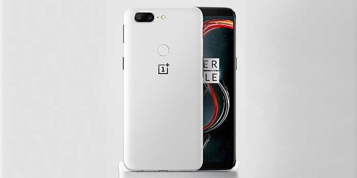 OnePlus 5T blanco