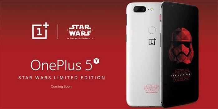 OnePlus 5T edicion star wars