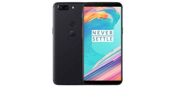 OnePlus 5T negro