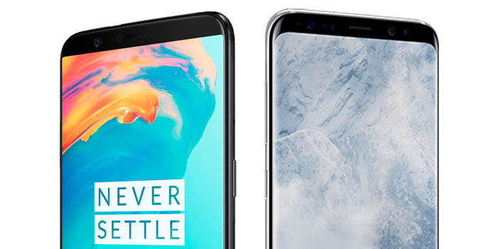 OnePlus 5T vs Galaxy S8