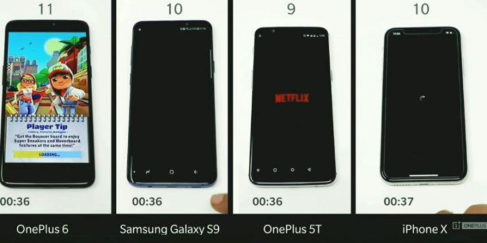 OnePlus 6 test de velocidad