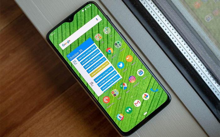 OnePlus 6T pantalla