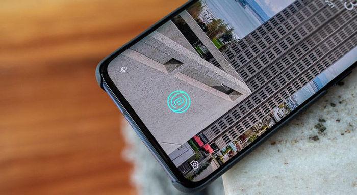 OnePlus 7 Sensor huella
