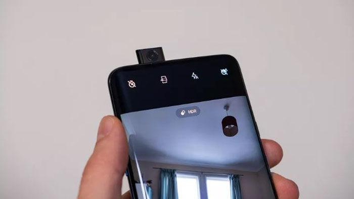 OnePlus 7T Pro camara frontal