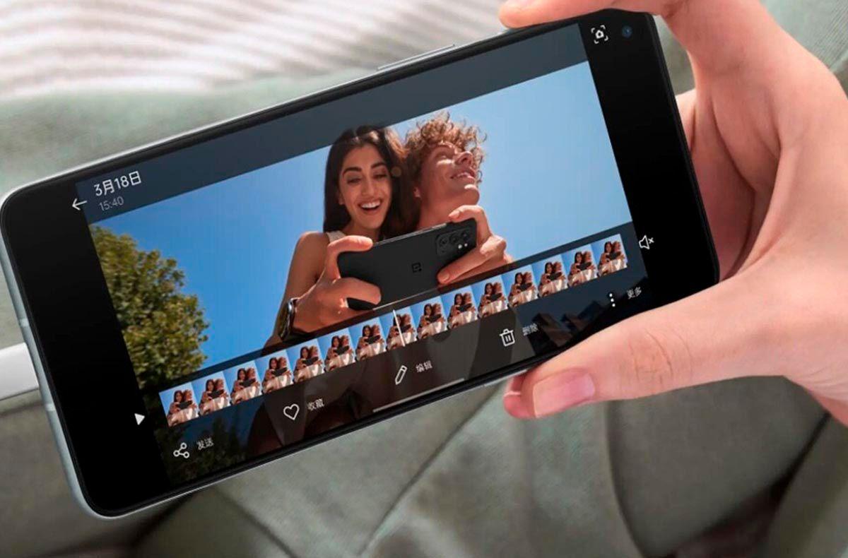 OnePlus 9RT pantalla