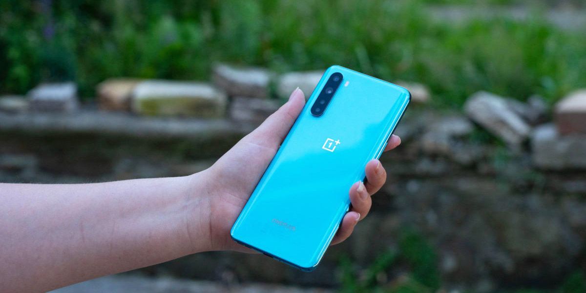 OnePlus Nord parte trasera