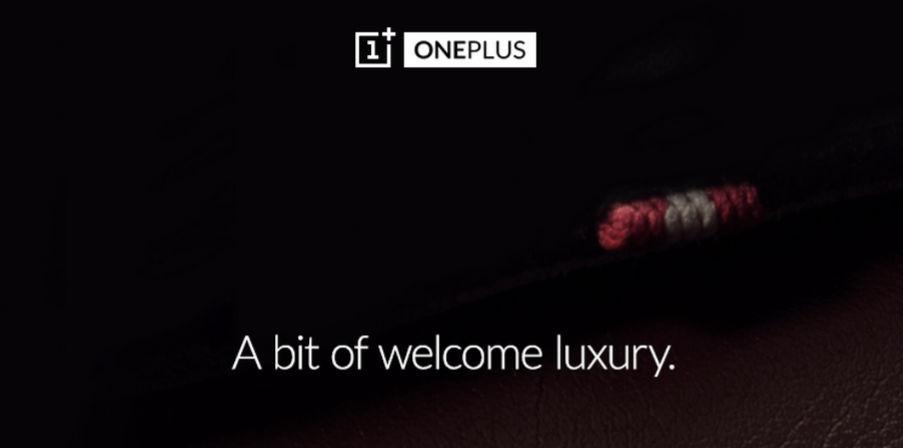 OnePlus presentará algo de lujo pronto