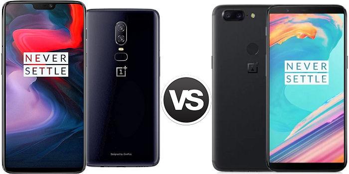 OnePlus 6 vs OnePlus 5T comparativa