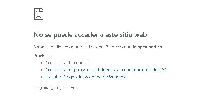 Openload caido