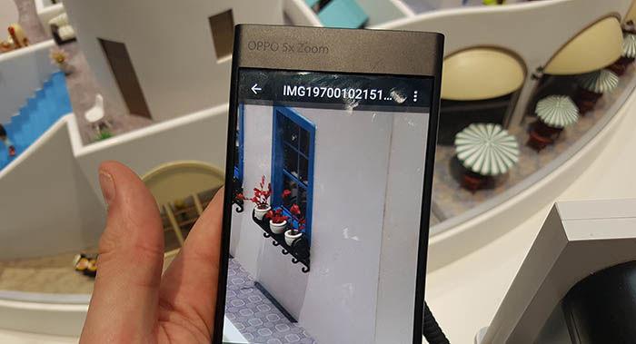 Oppo 5X con zoom