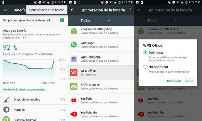 Optimizando uso de bateria de app en Android