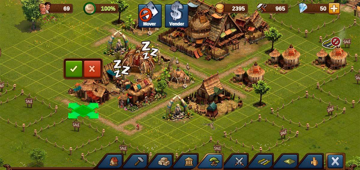 Ordenar ciudad Forge of Empires