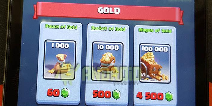 Oro Clash Royale