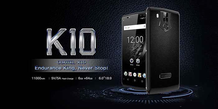 Oukitel K10 movil no para