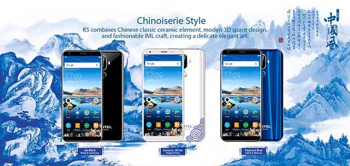 Oukitel K5 estilo chino