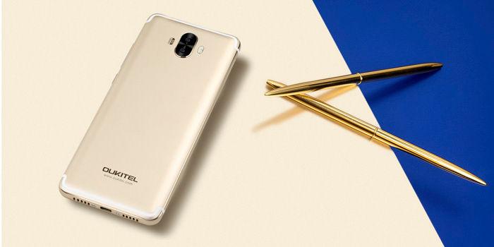 Oukitel K8000 dorado
