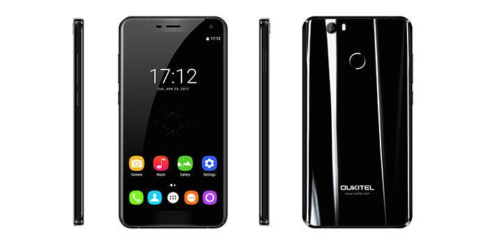 Oukitel U11 Plus negro brillante