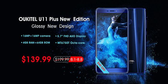 Oukitel U11 Plus nueva version