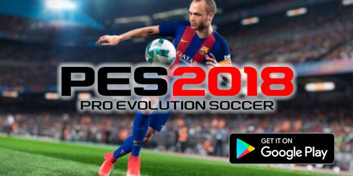 PES 2018 descargar Android