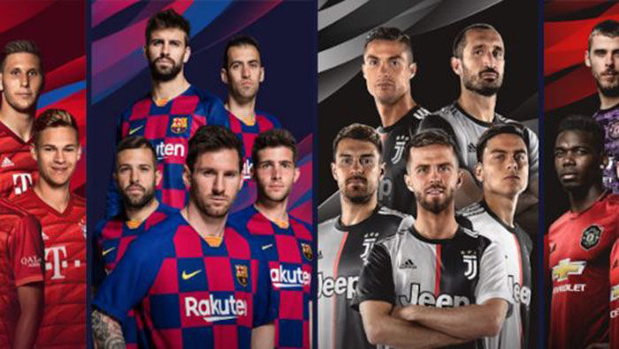 PES 2020 equipos