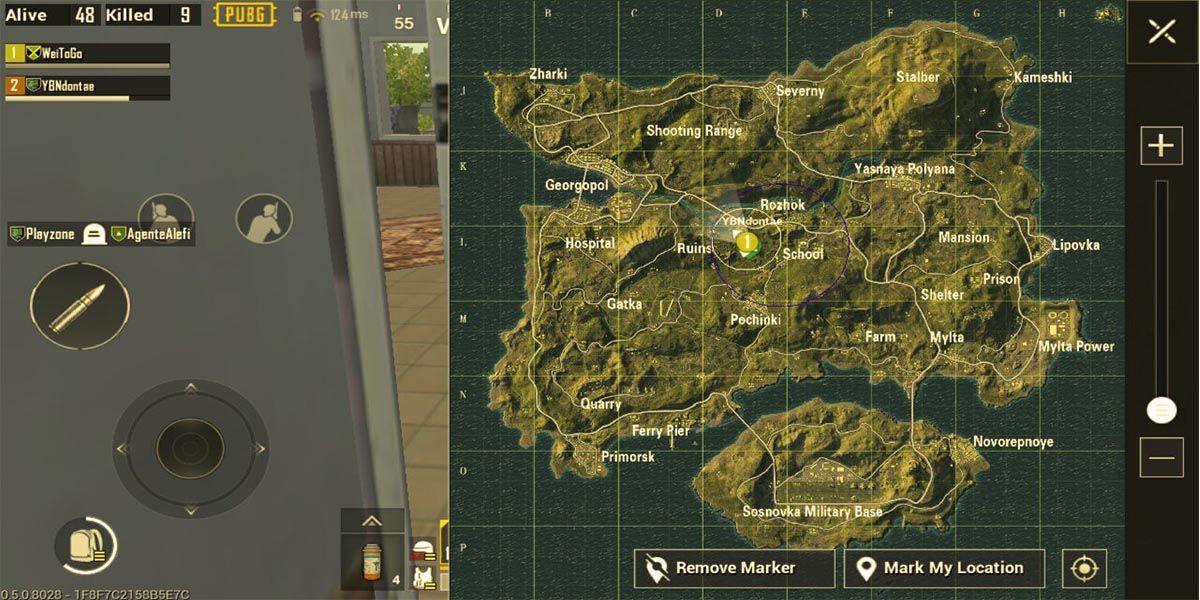 PUBG Mobile mapa