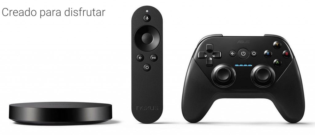 Pack completo Nexus Player