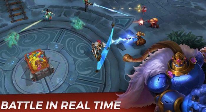 Paladins Strike batallas tiempo real