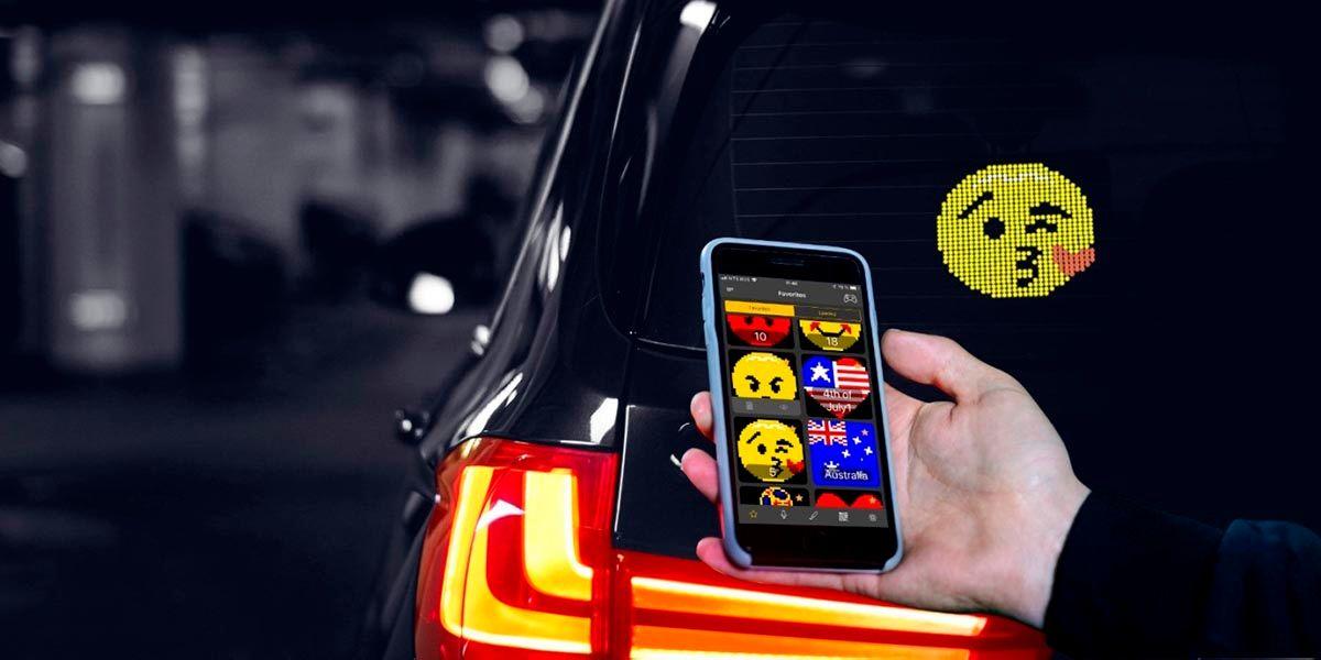 Pantalla LED para coches que arrasa en TikTok