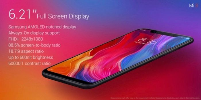 Pantalla Xiaomi Mi 8