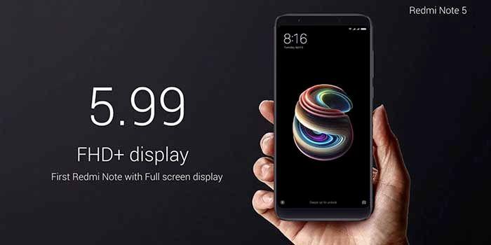 Pantalla Xiaomi Redmi Note 5