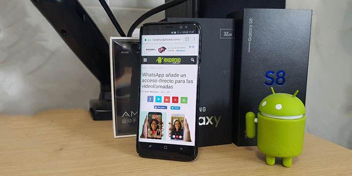Pantalla completa Galaxy S8