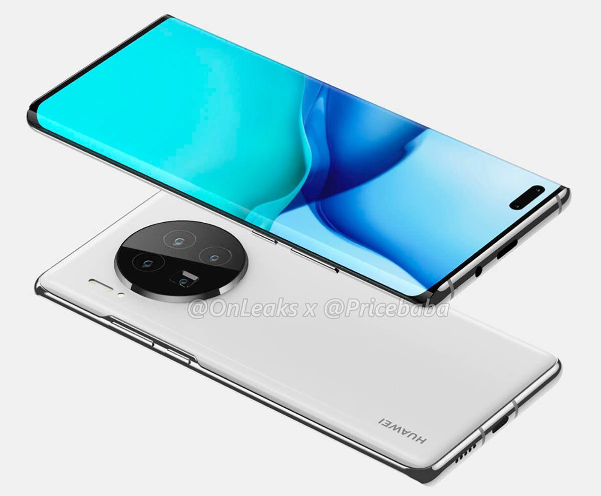 Pantalla de los Huawei Mate 40